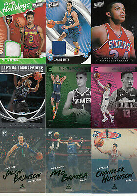 2018-19 Panini Black Friday Rookie Relic ZHAIRE SMITH RC Jersey 50 76ers