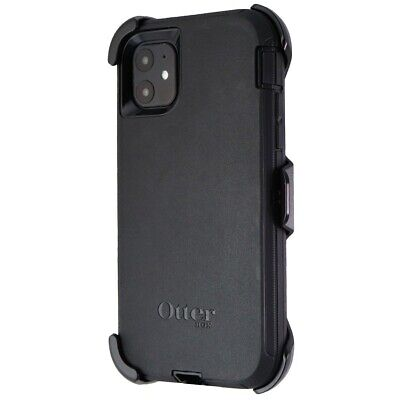 OtterBox Defender Series Case and Holster for Apple iPhone 11 - Black