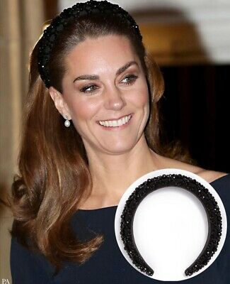 Zara headband worn by Kate Middleton