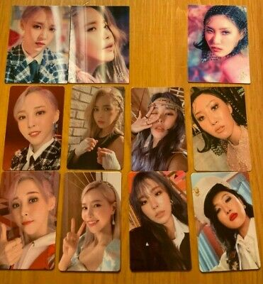 MAMAMOO 2nd Album Reality In Black Official Photocards HIP USA Seller SHIPPING