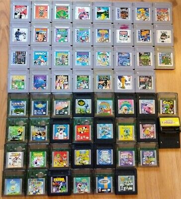 Nintendo Game Boy - Game Boy Color Games - AUTHENTIC - TESTED - SHIPS FAST