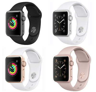 Apple Watch Series 2 38mm 42mm GPS - Gold Rose Gold Space Gray or Silver