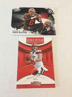 Lot 2 - Baker Mayfield - 2019 Black Friday - 2018 Contenders ROY  Free Ship Pwe