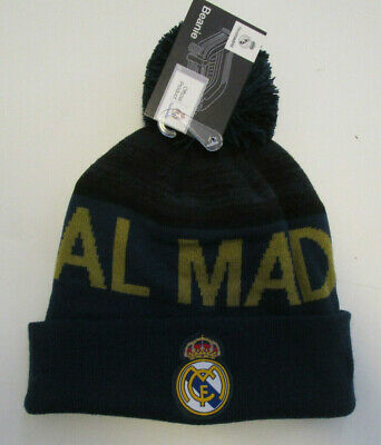 Unisex Real Madrid Beanie Soccer Team New Official Product One Size Fit Al Hat