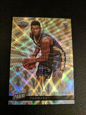 2019 Panini Cyber Monday Zion Williamson Parallel RC Rookie 99 Pelicans SP