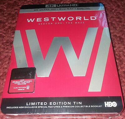 NEW 4K Ultra HD UHD Blu-ray  Westworld Season One The Maze limited edition