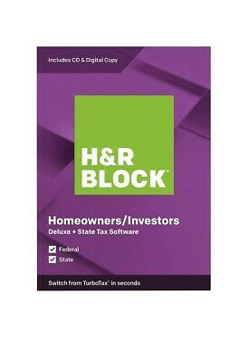 H-R BLOCK Tax Software Deluxe - State 2019