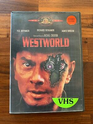 Westworld DVD 1998 Complete With Insert - Former Rental