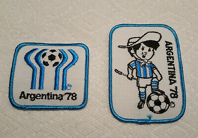 World Cup Argentina 78-Gauchito Mascota Vintage Embroidered patch