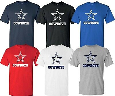 DALLAS COWBOYS Navy - White - Gray T-shirt  Graphic STAR S-4XL