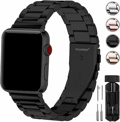 Apple MJ4G2ZMA Sport Band 38mm Black with Steel Pin for Apple Watch