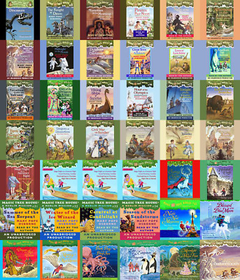 Magic Tree House Set 55 Books Collection By Mary Pope Osborne E-B0KEMAILED