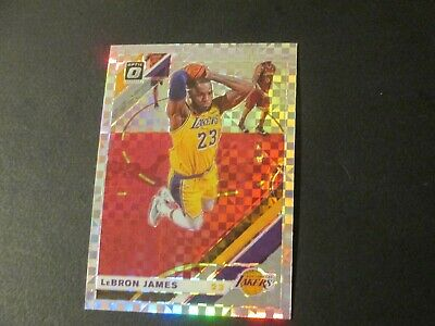 2019-20 Donruss Optic Lebron James Checkerboard Refractor SSP 60 pack fresh
