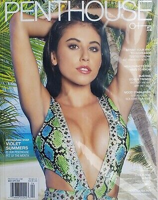 PENTHOUSE MAGAZINE MARCHAPRIL 2020 SEALED IN PLASTIC NEVER OPENED BRAND NEW