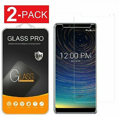 2-PACK For Coolpad Legacy Premium Tempered Glass Screen Protector Guard Clear