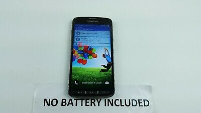 Samsung Galaxy S4 Active SGH-I537 16GB Gray AT-T Cracked Bad Touch T6366