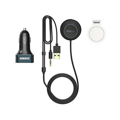 Bluetooth Car Receiver Hands-Free Car Kits 3 Port USB Car Charger-Magnetic Base