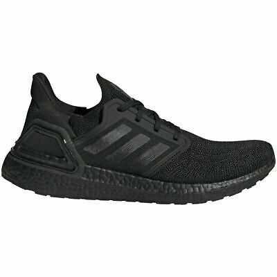 Adidas Mens Ultra Boost 20 Shoes - NEW - FREE SHIPPING - TRIPLE BLACK EG0691-