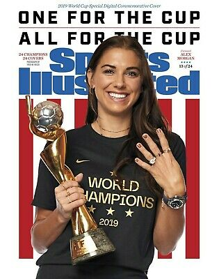 Alex Morgan US Womens World Cup Sports Illustrated cover Photo 2 - select size