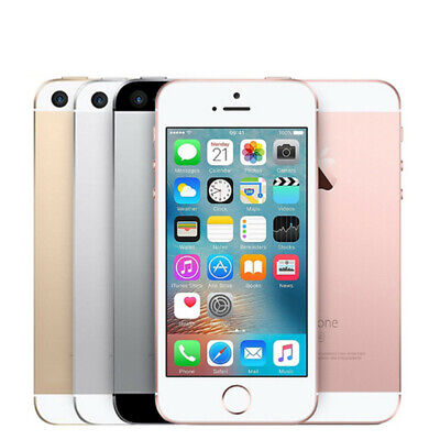 iPhone SE 163264128GB Apple Grey Pink Gold Silver Unlocked Smartphone 1st-Gen