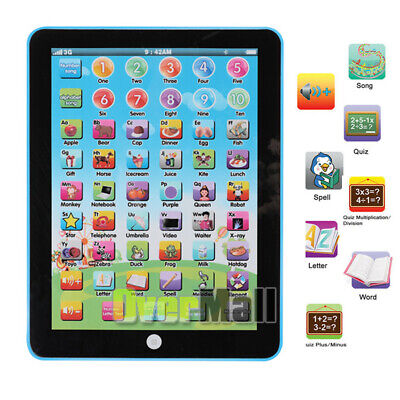 Educational Toys Baby Tablet For 1-6 year old Boy Girl Learning - Playing Gift