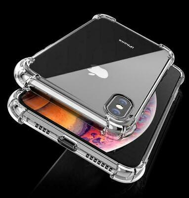 CLEAR Shockproof Case For iPhone 11 11 Pro Max XR X XS 8 7 6 Max Edge Silicone