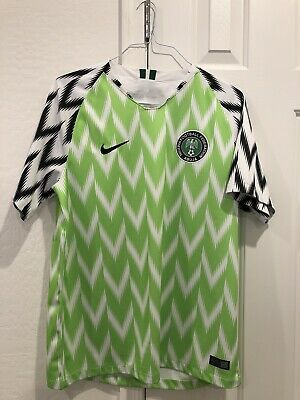Nike Nigeria Jersey Size Large 2018 World Cup