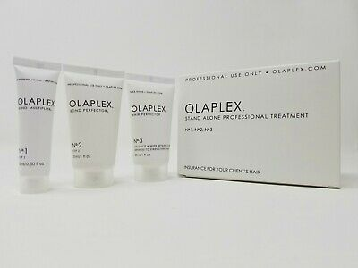 Olaplex Stand Alone Treatment Kit No 1 - No 2 - No 3 SAME DAY SHIPPING  SEALED