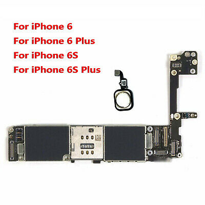 Main Motherboard with Touch ID For iPhone 66P6S6S Plus 64GB16GB Unlocked
