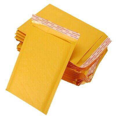 2550100 Any Size Kraft Bubble Mailers Self Seal Padded Shipping Envelope Bags