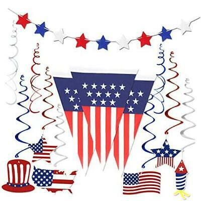 4th of July Decorations  Fourth of July Patriotic Party Decorations Supplies P