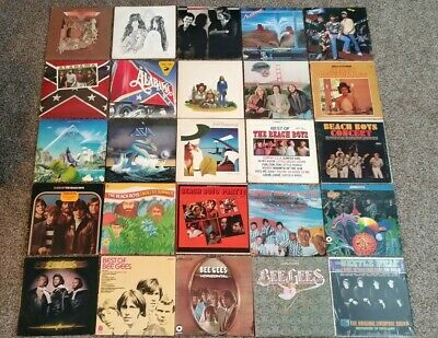 U Pick Any 4  20 Lot Vinyl Records Rock Pop 70s and 80s All Great Artists
