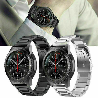 Stainless Steel Watch Strap Band Bracelet For Samsung Gear S3 FrontierClassic