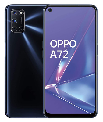 OPPO A72 TWILIGHT BLACK 128GB ROM 4GB RAM DUAL SIM ANDROID DISPLAY 6-5