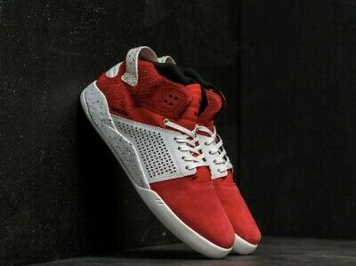 SUPRA SKYTOP III RED WHITE SPECKLE MEN SHOES SIZE 8 Brand new