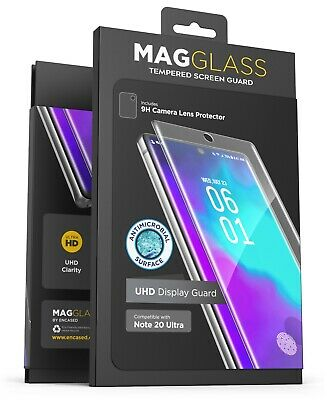 Samsung Galaxy Note 20 Ultra Screen Protector Tempered Glass  w Finger Sensor