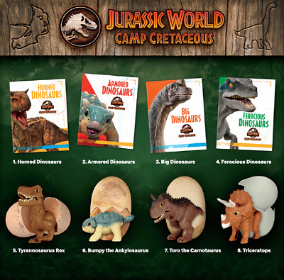 2020 McDONALDS Jurassic World Camp Cretaceous HAPPY MEAL TOYS Choose Toy or Set