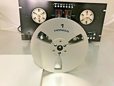 NEW Pioneer Reel 7 LIGHT METAL REEL 14 Tape Anodized Aluminum Made in USA