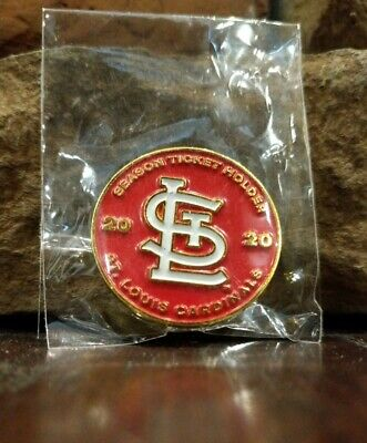 2020 ST LOUIS CARDINALS SEASON TICKET HOLDER PIN BRAND NEW BUSCH SGA