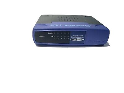 Linksys Ethernet Switch EtherFast  5-Port Workgroup External