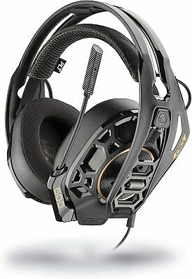 Plantronics RIG 500 PRO HX Wired Gaming Headset for Playstation 4 - Black