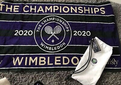 MENS Wimbledon 2020 Official Championships Towel