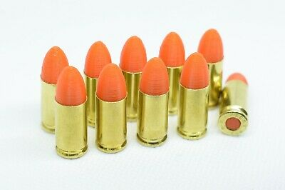 9mm Brass Snap Caps Dummy Rounds Safety Firearms Training 9x19