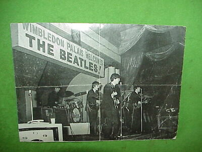 1963 Wimbledon Palais Paul McCartney Tearout from BEATLES BOOK MONTHLY JAN 1964