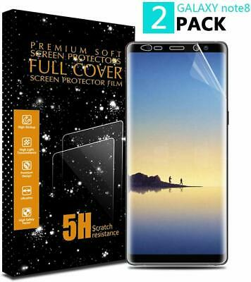 HD FULL COVER Screen Protector Film For Samsung Galaxy S8 S9 S10 e Plus Note 10