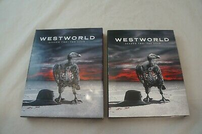 Westworld  Season Two The Door Blu-Ray 3-Disc Set 2018 No Digital Code 1