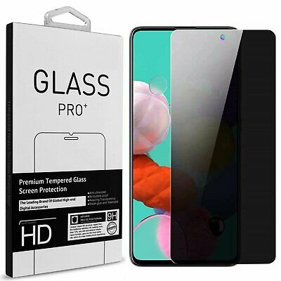 For Samsung Galaxy A71 Privacy Anti-Spy Tempered Glass Screen Protector