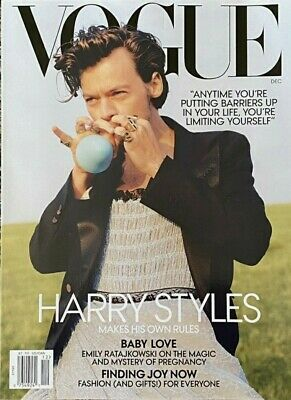 HARRY STYLES - VOGUE MAGAZINE - DECEMBER 2020 BRAND NEW NO LABELS