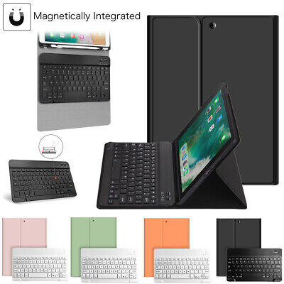 For iPad 8th Gen 10-2 2020 Bluetooth Keyboard Case Stand with Pencil Holder US