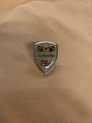Vintage FIFA World Cup Mexico 1986 Great Britian Lapel Pin Hat Pin